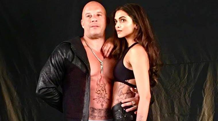 Vin Diesel, Deepika Padukone, xxx, xxx the return of xander cage, Vin Diesel deepika padukone, Vin Diesel deepika, Vin Diesel xxx, Vin Diesel xxx the return of xander cage, Entertainment, indian express, indian express news