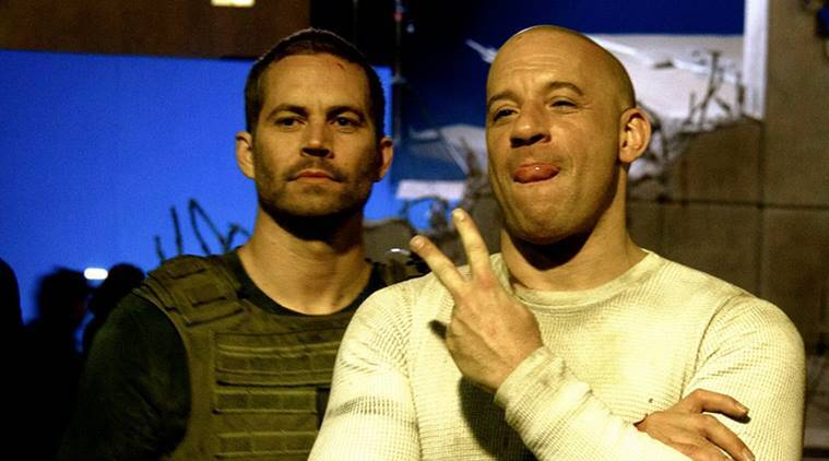 Vin Diesel, paul Walker, Vin Diesel Paul Walker, Vin Paul, Vin Diesel fast and Furious, Vin Diesel friend Paul Walker, Entertainment, indian express, indian express news