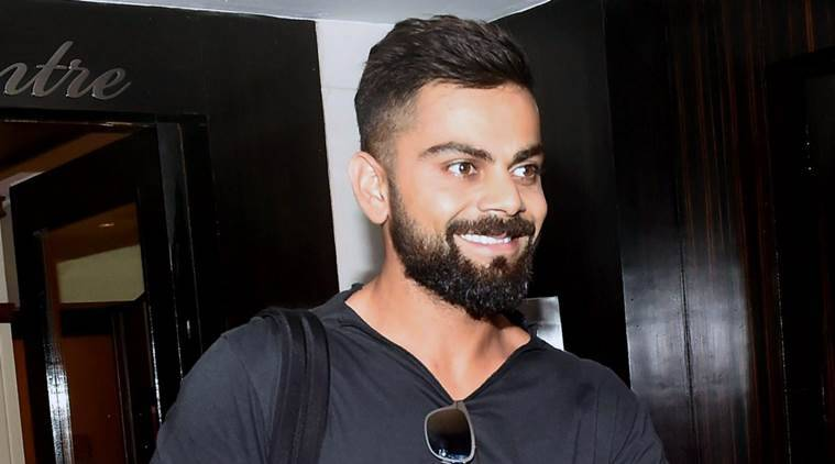 RPT...Mumbai: Indian cricket team captain, Virat Kohli leaves after attending a meeting at BCCI in Mumbai on Monday. PTI Photo by Mitesh Bhuvad(PTI9_12_2016_000069B)