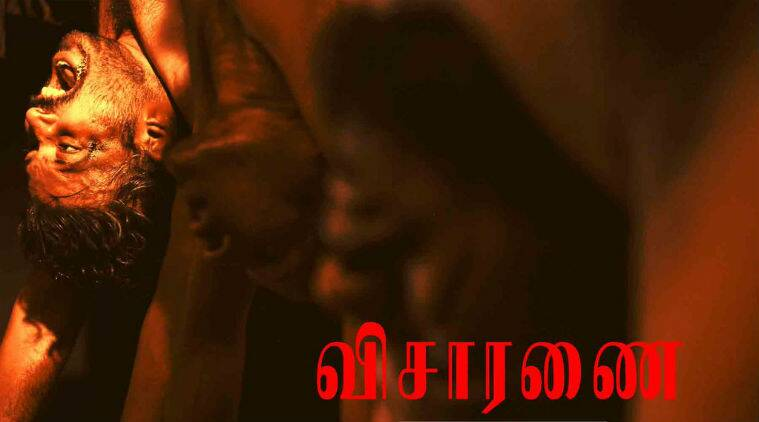 Visaranai follows the story of four youngsters who suffer heart-wrenching police durability for the crime they didn't even commit.