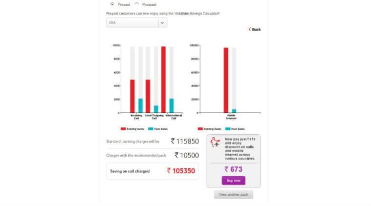 vodafone india prepaid plans