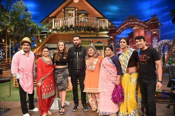 YUVRAAJ SINGH, COMEDY NIGHTS WITH KAPIL, Sumona Chakravarti , yuvraaj singh latest news, yuvraj singh latest updates, hazel keech, entertainment news, indian express, indian express news