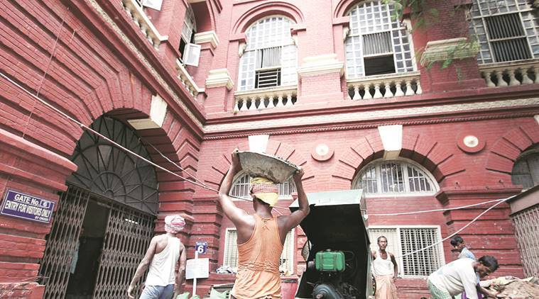 Year after plan given to PWD, Writers Building's repairs yet