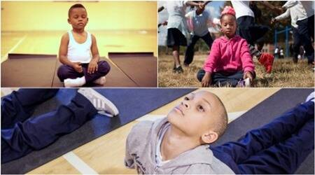 baltimore school uses meditation in place of yoga, baltimore students do meditation to correct behaviour, meditation instead of punishment for students, why should we not punish students, how to correct behaviour of children, indian express, indian express news, lifestyle,