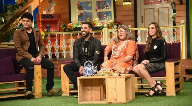 the kapil sharma show, the kapil sharma show yuvraj singh hazel keech, yuvraj singh hazel keech, yuvraj hazel marriage, yuvrag hazel wedding, kapil sharma yuvraj hazel, kapil show yuvraj, kapil sharma show yuvraj, the kapil sharma show news, the kapil sharma show upcoming episode, yuvraj hazel guests, yuvraj hazel dating, yuvraj hazel couple, television news, kapil sharma news, entertainment updates, indian express, indian express news