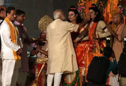 Narendra Modi, Lucknow, Modi lucknow, Modi Ram Leela, Modi Lucknow speech, Modi in Lucknow, Modi Aishbagh ram leela