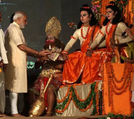 PM Modi urges to unite against terrorism, says need to get rid of 'Ravanas' on Dussehra
