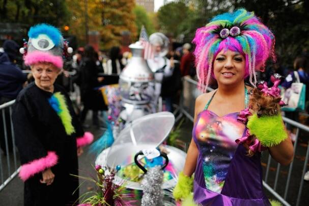 Donald Trump costumes ruled at this Halloween dog parade