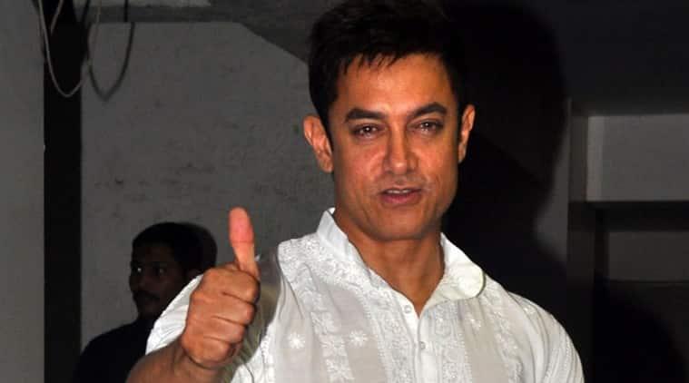 Aamir Khan, Aamir Khan diwali, aamir celebrates diwali