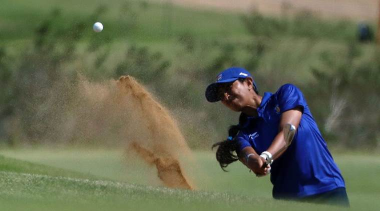 Aditi Ashok, Aditi, Aditi India golf, Aditi Golf, Aditi China, Aditi Ashok golf India, Aditi Ashok LPGA, golf, golf news, sports, sports news