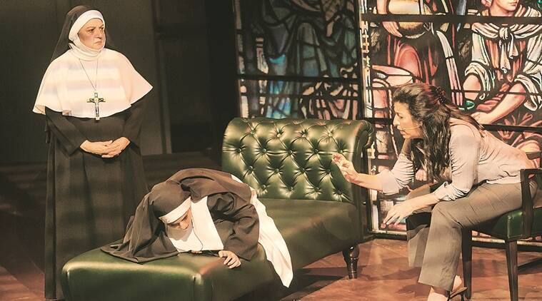 Old World Theatre Festival, Agnes of God, Nassim Soleimanpour, White Rabbit, Red Rabbit, Old World Film Festival mumbai, mumbai Old World Film Festival, IHC and Epicentre, Gurgaon, indian express talk, play
