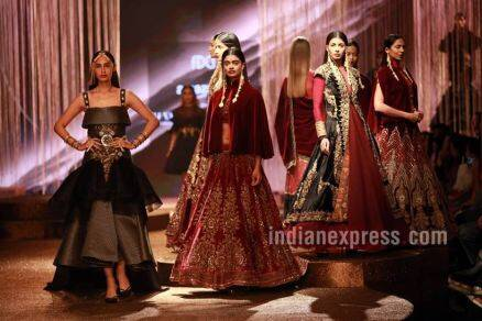AIFW Grand Finale: JJ Valaya ends SS'17 with three stunning collections