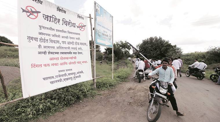 purandar airport, india news, indian express,