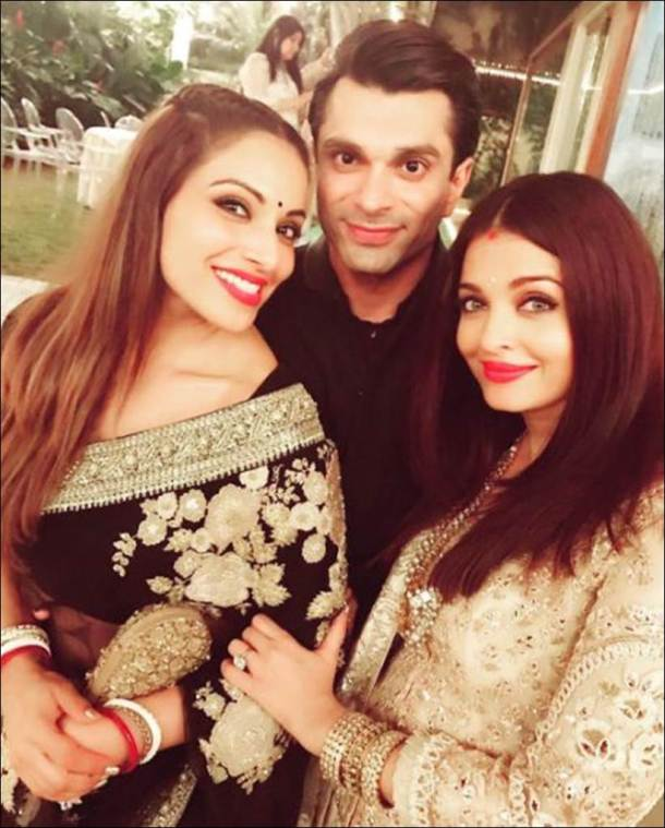 Aishwarya Rai Bachchan, Bipasha Basu, Karan Singh Grover