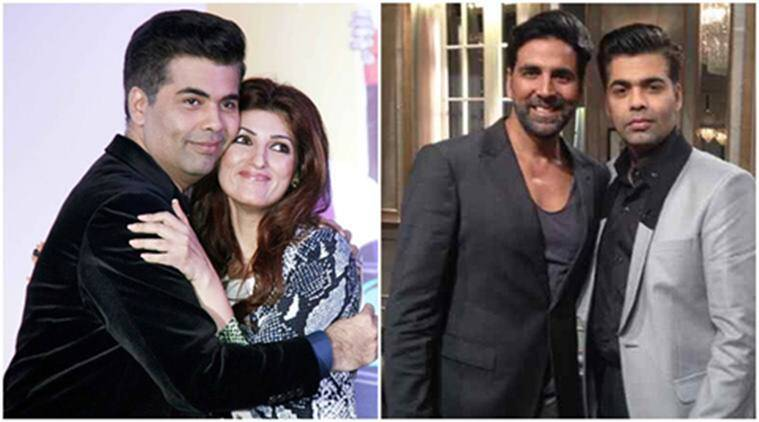 akshay kumar, twinkle khanna, karan johar, akshay twinkle koffee with karan, koffee with karan, karan johar films, akshay kumar films, ae dil hai mushkil, indian express, indian express news, entertainment news