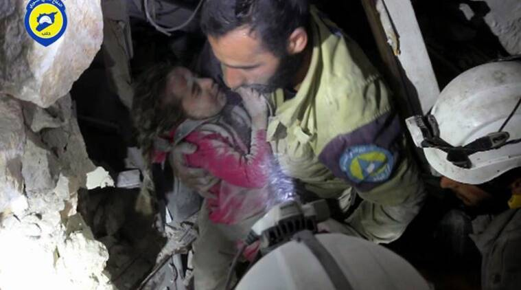 syria, syria news, syria war, syria crisis, syria children, aleppo, aleppo offensive, aleppo children, aleppo war, syria civil war, syria conflict, syria news, world news, indian express