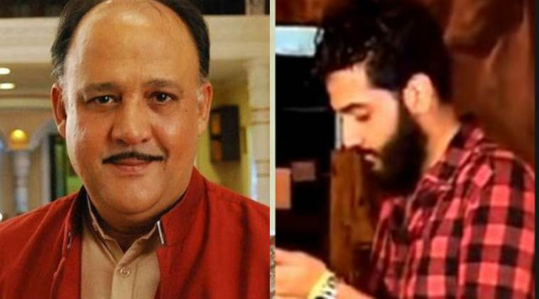 alok nath, alok nath son, shivang nath, shivang nath detained, alok nath son detained, alok nath son arrested, alok nath son speeding vehicle, india news, entertainment news