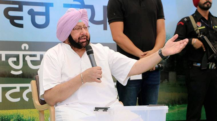 Punjab, Punjab Congress, Punjab Congress chief, Amarinder Singh, amarinder singh punjab, Kisan Bus Yatra, punjab polls, punjab elections 2017, assembly polls, india news, indian express