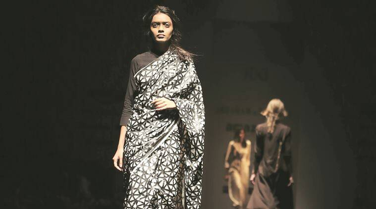 Amazon India Fashion Week, AIFW, Spring-Summer 2017 edition, Indian textiles, fashion, indian express talk