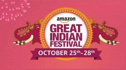 Amazon 'Great Indian Festival' Sale begins October 25: Top deals on smartphones, other electronics