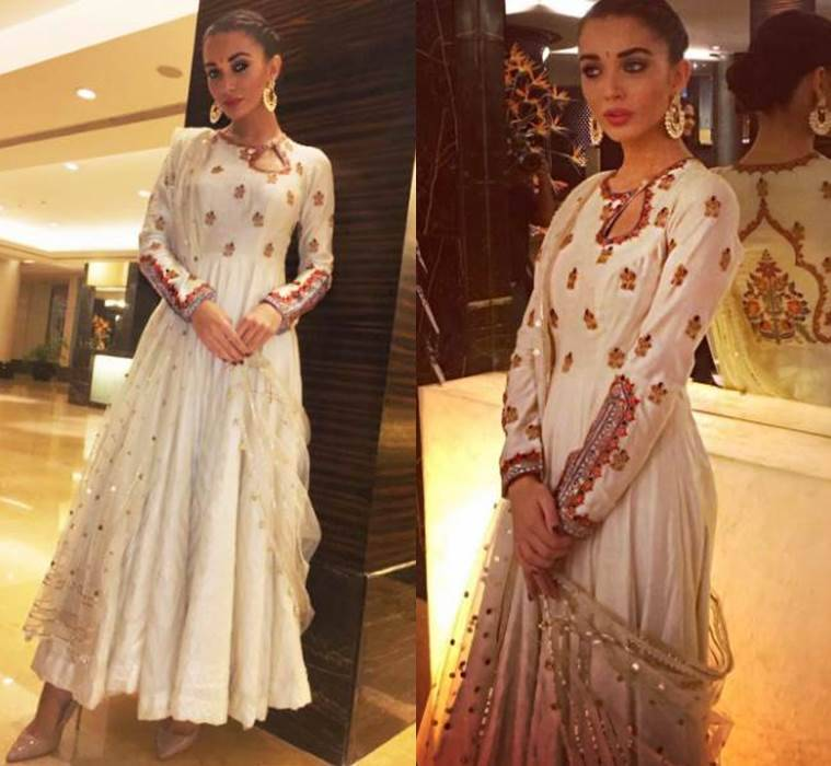 Amy Jackson in Rimple & Harpreet Narula. (Source: Instagram/Amy Jackson)