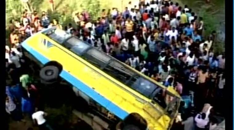 odisha, Odisha bus accident, orissa bus mishap, Angul bus accident, Angul bus mishap