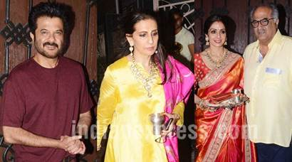 Anil Kapoor and family's Karva Chauth celebration is a starry affair