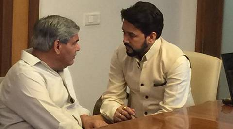 'Letter' to ICC president Shashank Manohar ties BCCI chief Anurag Thakur in knots