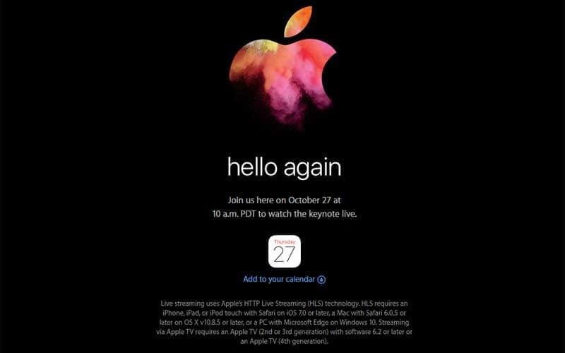 Apple,Apple MacBook Pro, Apple MacBook event, Apple October 2016 keynote, Apple MacBook keynote, Apple event livestream, Apple Livestream India, Apple Live-stream Windows, Apple Live-stream MacBook, MacBook Pro leaks, MacBook Pro rumours, MacBook Pro features, Apple MacBook Air specs