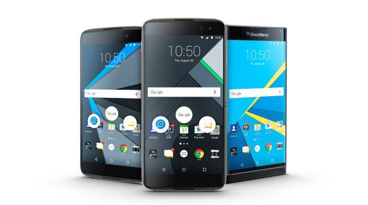 BlackBerry DTEK60 with 5 5-inch display, Android 6 0 Marshmallow