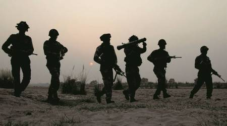 Pakistan, ceasefire violation, pakistan ceasefire violation, poonch ceasefire violation, two indian soldiers dead, indian soldiers mutilated india-pakistan, Krishna Ghati ceasefire violation, KG ceasefire violation, poonch ceasefire violation, pakistan ceasefire violation, kashmir, kashmir news, pakistan news, rajnath singh, indian express