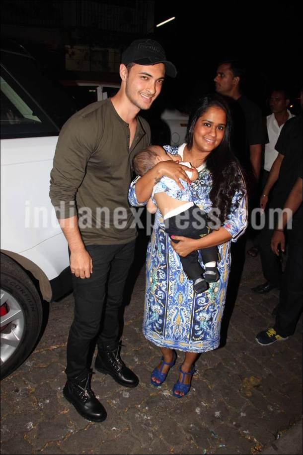 Aayush Sharma's birthday, Aayush Sharma's birthday parrty, arpita khan, Aayush Sharma arpita khan