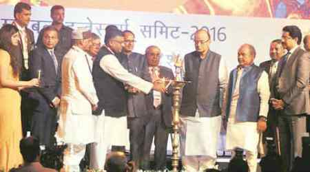 Arun Jaitley, Jaitley, Shivraj Singh Chouhan, Global investors' summit, inflation, GIS, india investment, india news, business news