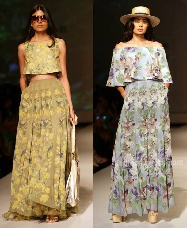 AIFW SS17: Ashima-Leena and their love for florals
