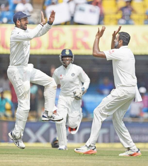 Ashwin, Pujara, India vs New Zealand, ind vs nz, ind vs nz 3rd test, R Ashwin, Ashwin, Ashwin wickets, Ind vs nz photos, Ashwin photos, Kohli, Virat Kohli India, Cricket news, Cricket