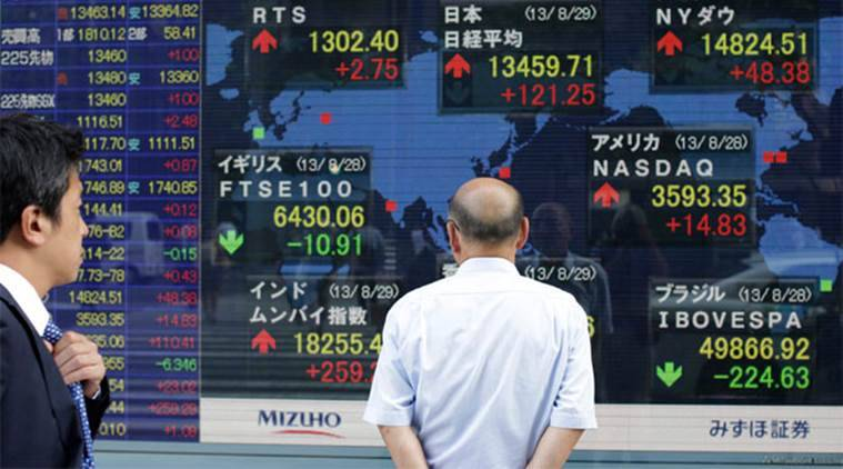 Nikkei, Japan shares, Japan stocks, Japan stock markets, stock markets, global market, business news, world market, latest news, indian express