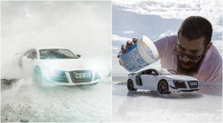Secret revealed: Here's how this photographer created spectacular photos of Audi R8 using just a toy car