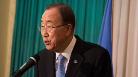 Ban Ki-moon regrets world body's role in Haiti cholera outbreak, says sorry
