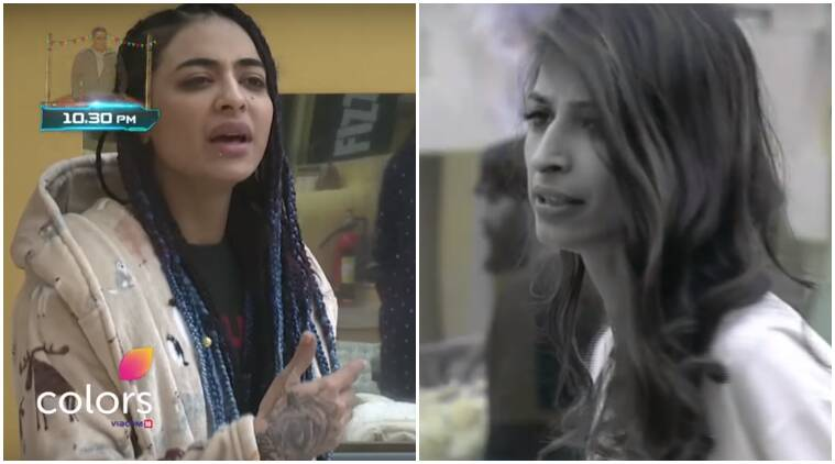 bigg boss, bigg boss 10, bigg boss 10 live, bigg boss 10 bani priyanka, bigg boss 10 priyanka crying, bigg boss 10 catfight, bigg boss 10 fight, bigg boss 10 controversy, bigg boss 10 episode 2, bigg boss 10 review, bigg boss 10 summary, bigg boss 10 news, television news, entertainment updates, indian express, indian express news