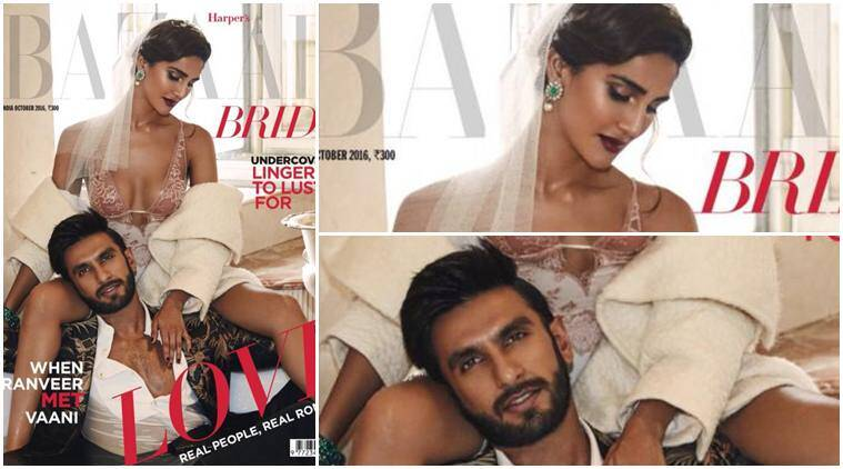 Ranveer Singh, Vaani Kapoor, befikre, Harpers Bazaar cover, ranveer vaani Harpers Bazaar cover, Harpers Bazaar cover ranveer vaani, ranveer vaani cover, ranveer vani, vaani ranveer, ranveer singh befikre, befikre vaani kapoor, entertainment news, indian express, indian express news