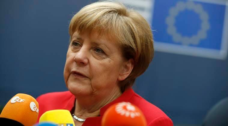 Angela Merkel, Merkel, Germany, Germany chancellor, Angela merkel's fourth term, Merkel's fourth trerm, Europe, Brexit, US, US elections, Germany elections 2017, Angela merkel germany elections, Angela Merkel news, world news, indian express news