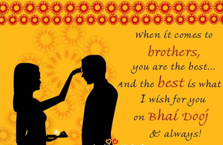 This year Bhai Dooj is celebrated on November 1. (Source: Dazzlingwallpapers.com)
