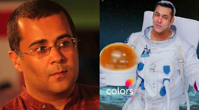 At the time when the whole world is going gaga about the soon-te-be premiered, Salman Khan-hosted reality show Bigg Boss 10, Chetan Bhagat is just not excited.