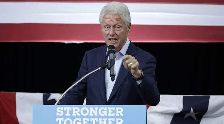 US Elections 2016, US Presidential elections, Bill clinton, bill clinton sexual assualt, Donald trump, Breitbart.com, Hillary Clinton, Leslie Millwee, World news, Indian express news