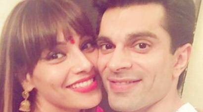 Bipasha Basu celebrates first Karva Chauth with Karan Singh Grover and their pics are too adorable for words