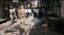 Blast at Chandni Chowk: Small pieces of paper were strewn around the body