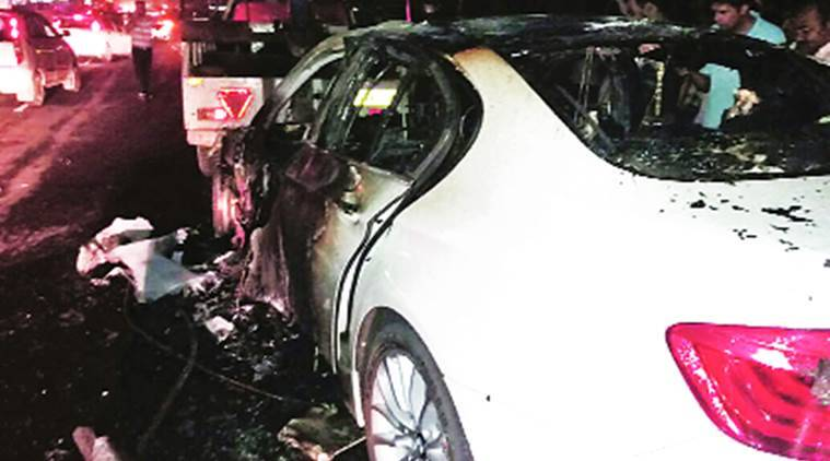 mohali, mohali accident, bmw accident, mohali bmw accident, mohali news, indian express news