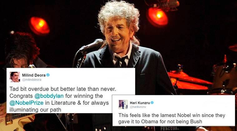 Bob Dylan winning Nobel literature prize for 2016 leaves ...