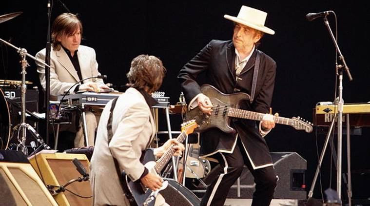 bob dylan, rock band, american singer, american song weiter, indian express, indian express news