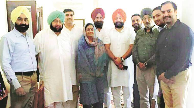 Akali MLA, Inderbir Singh Bolaria, Inderbir Singh Bolaria congress, Bolaria join congress, congress Bolaria, indian express news, india news, punjab congress, punjab elections 2017, punjab polls
